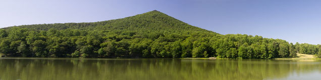 Panoramic View of Sharp Top Mountain Royalty Free Stock Photo
