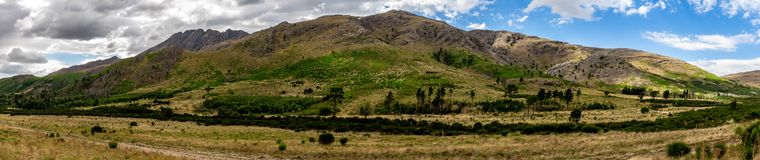 Panoramic view of the sierras of the window in the province of Buenos Aires. Sierras of the window in the province of Buenos Aires stock photos