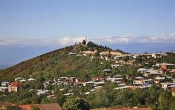 Panoramic view of Sighnaghi. Kakheti. Georgia.  royalty free stock images