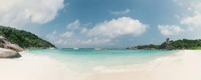 Panoramic view of Similan island, Thailand Royalty Free Stock Photos