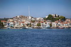 Skiathos Island in Greece royalty free stock photos