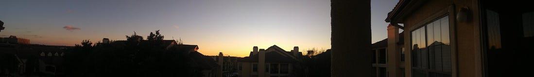 Sky at dusk royalty free stock photos