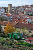 Panoramic view of Soria (Spain) Stock Photos