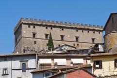 Panoramic view of Soriano nel Cimino. Lazio. Italy. Royalty Free Stock Image