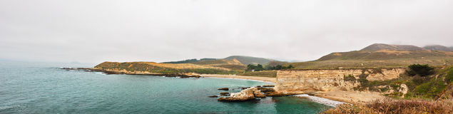 Panoramic View of Spooner's Cove, Royalty Free Stock Photo