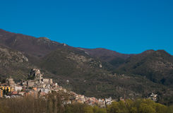 Panoramic view of Subiaco Royalty Free Stock Image