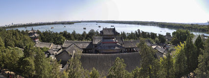 The Panoramic view of Summer Palace Stock Photos