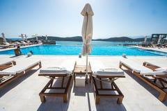 Elounda City, Crete, Greece Stock Photos