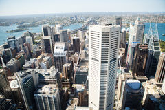 Panoramic view of Sydney Royalty Free Stock Photography