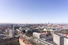 Panoramic view of Tallinn city Royalty Free Stock Photography
