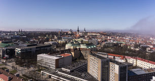 Panoramic view of Tallinn city Stock Images