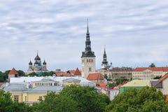 Panoramic view of Tallinn Royalty Free Stock Photo