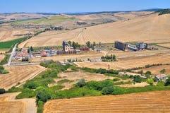 Panoramic view of Tarquinia. Lazio. Italy. Royalty Free Stock Photos