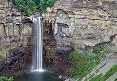 Panoramic view of Taughannock Falls in rural New York Stock Image