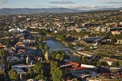 Panoramic view of Tbilisi. Georgia Stock Photography