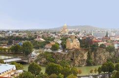 Panoramic view of Tbilisi, Georgia Stock Photography