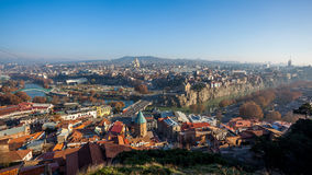 The Panoramic View Of Tbilisi, Georgia, Europe Royalty Free Stock Photography
