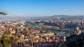The Panoramic View Of Tbilisi, Georgia, Europe Stock Image
