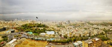 Panoramic view of Tehran. Iran stock images