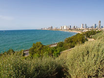 Panoramic view of Tel-Aviv Israel Stock Photos