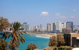 Panoramic view of Tel-Aviv, Israel. Stock Photography