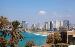 Panoramic view of Tel-Aviv, Israel. Stock Photography