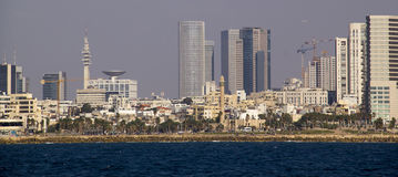 Panoramic view of Tel Aviv.Israel Stock Photo