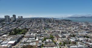 San Francisco Aerial View stock footage