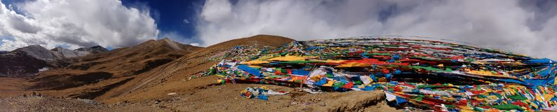 Panoramic view of Tibet Royalty Free Stock Image