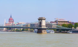 Panoramic view to Budapest Stock Photos