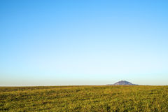 Panoramic view to the emperor hill Hohenstaufen Royalty Free Stock Photos