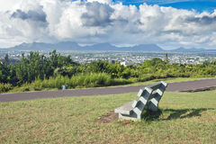 Panoramic view to Port Luis Stock Photography