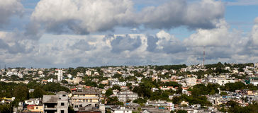 Panoramic view to Port Luis Royalty Free Stock Photo