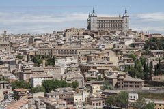 Panoramic view to Toledo Stock Photography