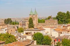 Panoramic view to Toledo Stock Photo