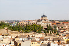 Panoramic view to Toledo Royalty Free Stock Photo