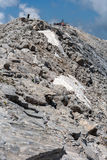 Panoramic view to Vihren Peak, Pirin Mountain Royalty Free Stock Images
