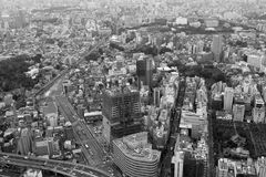 Panoramic view of Tokyo Royalty Free Stock Image