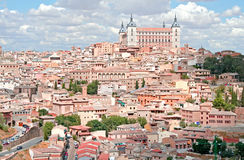 Panoramic view of Toledo. Panoramic view of Toledo, Spain Stock Photography