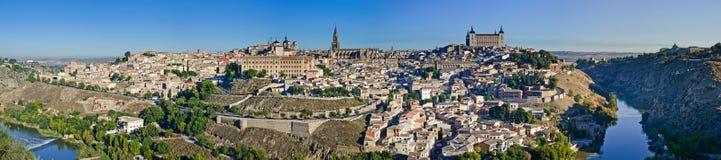 Panoramic view of Toledo. Royalty Free Stock Photos