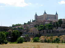 Panoramic view of Toledo Royalty Free Stock Image
