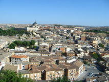 Panoramic view of Toledo city Royalty Free Stock Photography