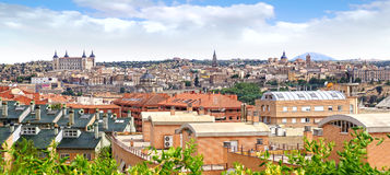 Panoramic view of Toledo Stock Photos