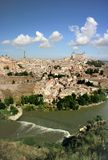 Panoramic view of Toledo, Spain Stock Image