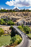 Panoramic view of Toledo Spain on a summer day Stock Photography