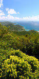 Panoramic View of Tortola Royalty Free Stock Photo