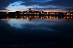 Panoramic view of Toruń Royalty Free Stock Photo