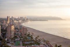Panoramic view of the tourist hub Benidorm Royalty Free Stock Photo