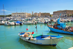 Panoramic view of Trani. Puglia. Italy. Royalty Free Stock Images