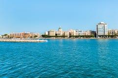 Panoramic view of Trapani, Sicily. Italy. Royalty Free Stock Photos
